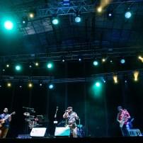 The Magnetophones el 7 de octubre de 2018. Foto, Ángel Burbano