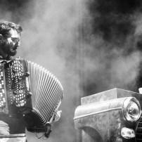 Zebda Motivé Sound System el 7 de octubre de 2018. Foto, Ángel Burbano