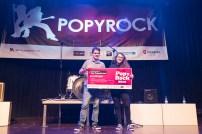 Popyrock 2018. Eva McBel. Centro Cívico Delicias. Foto, Luis Lorente