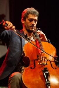 Pato Badian el 10 de octubre de 2018 en la Plaza San Bruno Fotos, Ángel Burbano