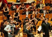 Aragón Sinfolknico en la sala Mozart del Auditorio de Zaragoza el 29 de enero de 2019 por Ángel Burbano
