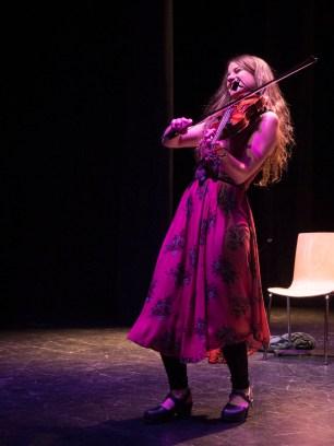Luar Na Lubre en el Teatro de las Esquinas de Zaragoza. 28/3/19. Foto, Luis Lorente