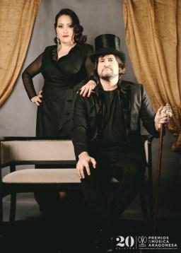 Irene Alquezar y Luis Cebrián. Foto, Jal Lux