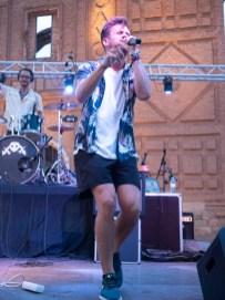 UV Ultravioleta. Belchite Music Night. 22/6/19. Foto, Luis Lorente