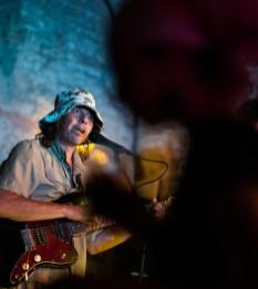 Deep Sound River el 7 de agosto de 2019 en la Bóveda del Albergue. Foto, Ángel Burbano