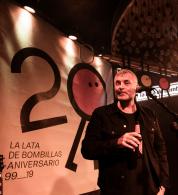 LA HABITACIÓN ROJA el 25 de septiembre de 2019 en La Lata de Bombillas. Foto, Ángel Burbano