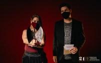 Viki Lafuente. 21º Premios de la Música Aragonesa. Foto, Jal Lux