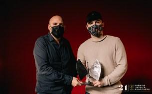 El Momo. 21º Premios de la Música Aragonesa. Foto, Jal Lux