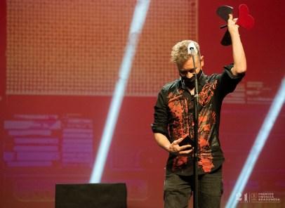 Nacho Serrano / 21 Premios de la Música Aragonesa. Foto, Ángel Burbano