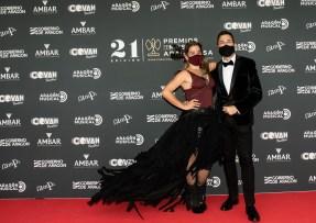 Vicky Lafuente y David Chapín / 21 Premios de la Música Aragonesa. Foto, Ángel Burbano