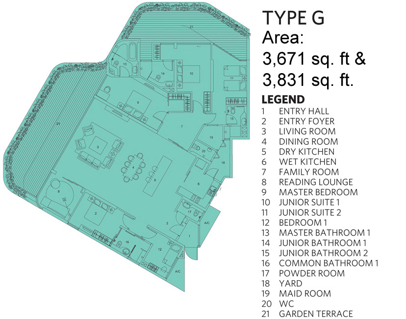 type g garden villa