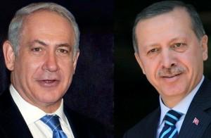 netanyahu and erdogan
