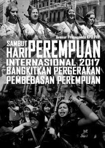 Brosur Hari Perempuan Internasional 2017