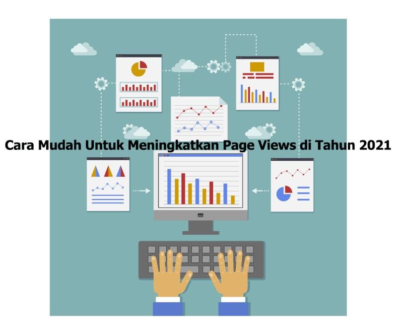 Cara Mudah Untuk Meningkatkan Page Views di Tahun 2021 arahmata digital agency profesional