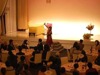 京都・福知山にて婚活パーティのアトラクションで出張マジック