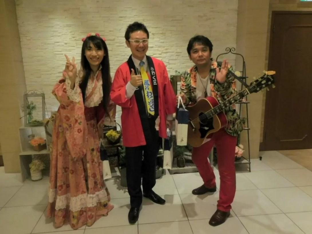 錦糸町・賀詞交歓会の余興で出張マジックショー