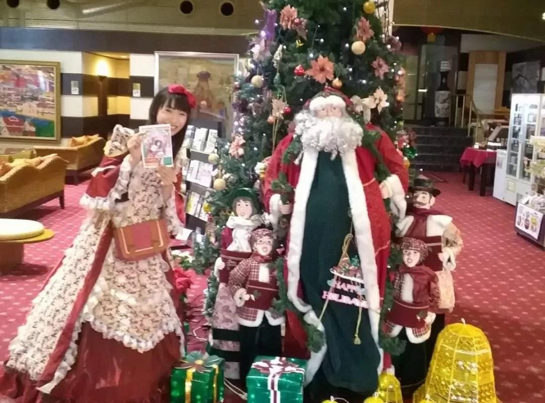 サンバレー那須様でクリスマスマジック派遣 女性マジシャン