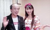 岐阜にて出張マジック&モノマネショー