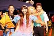茨城県つくば児童養護施設の夏祭りでマジック