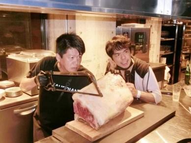 ホリエモンさんのお肉パーティ