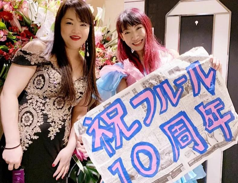 湯島フルール様 開店10周年イベントで出張マジック2日目