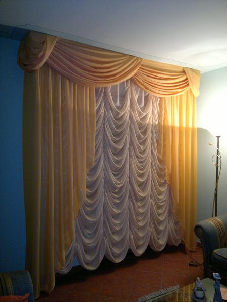 Recensioni dei clienti per installatori di tende a pacchetto a milano. Aral Tendaggi Scheda Prodotto Tende Da Arredamento Tenda Con Mantovana E Pacchetto Bouillonne