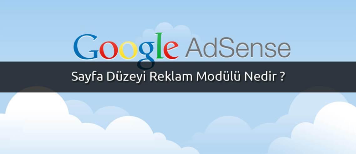 Sayfa Düzeyi Reklam Modülü