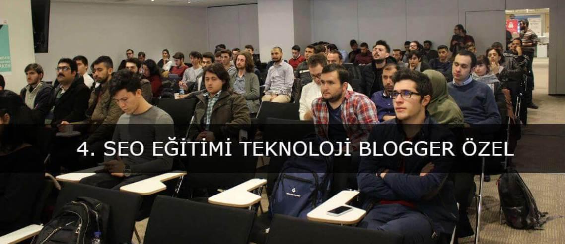 Teknoloji Bloggerlarına Özel SEO Eğitimi