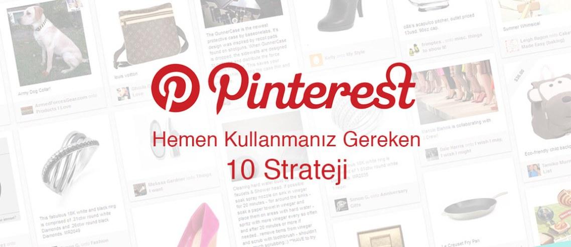 Pinterest Stratejisi