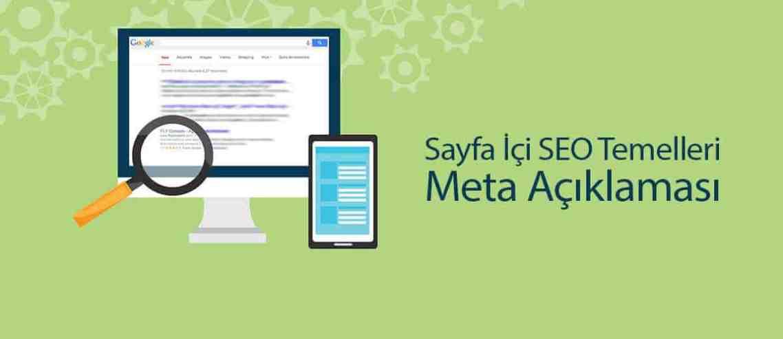 Sayfa İçi SEO Temelleri: Meta Açıklaması