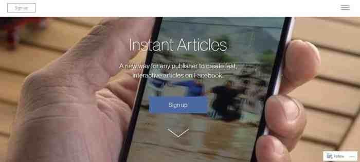 Facebook Anlık Makaleler (Instant Articles) Kurulumu Resimli Anlatım 1