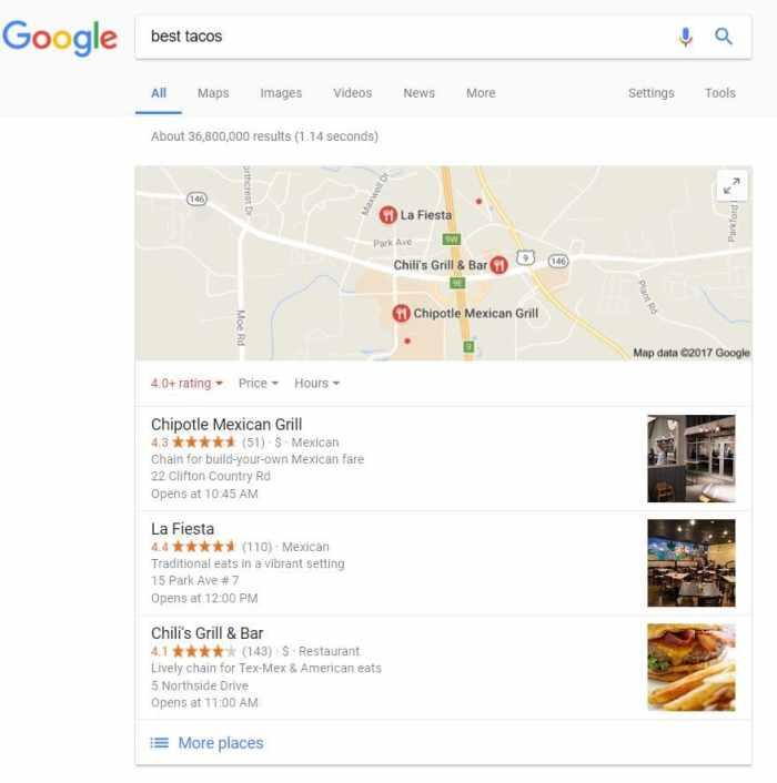 Google Pigeon Güncellemesi