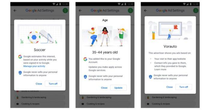 Google reklam deneyimleri
