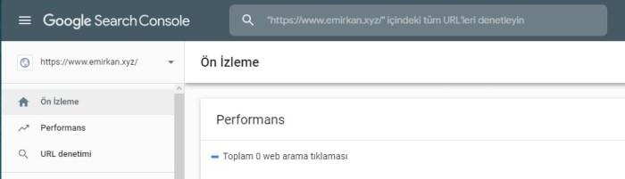 Google URL Denetleme Aracı