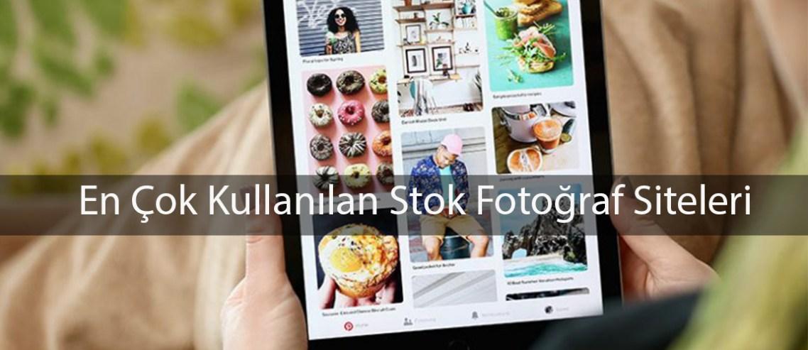 En çok kullanılan stok fotoğraf siteleri