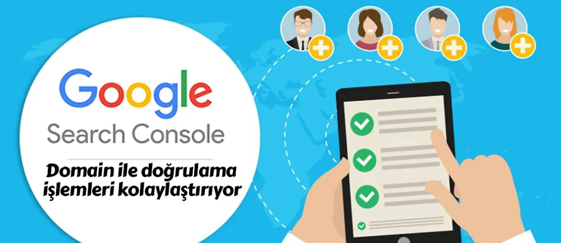 Google Search Console domain ile doğrulama