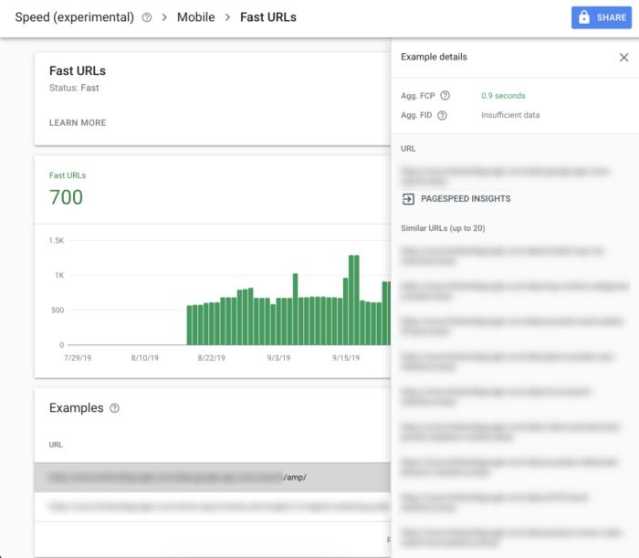 Google Arama Konsolu Sayfa Hızı Raporu