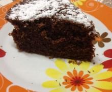 Torta al cioccolato sofficissima in microonde
