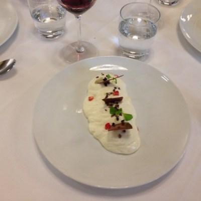 Dessert sabayon signé Philippe Etchebest