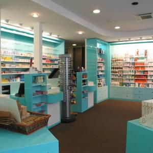 Meubles sur-mesure pour une pharmacie toulousaine