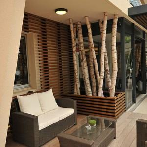 Terrasse déco bois