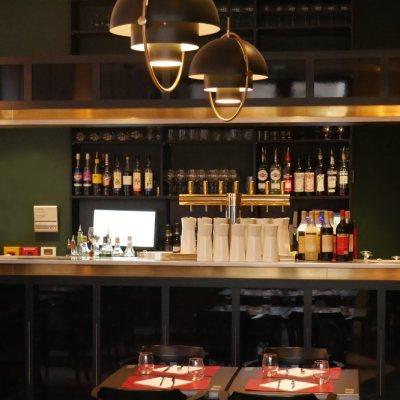 Bar de la Brasserie Le Bellini au centre de Toulouse place du Capitole
