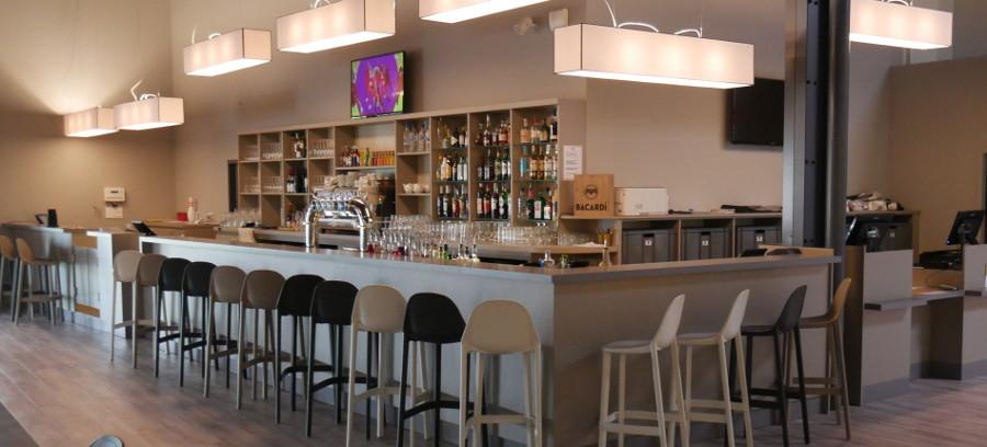 Comptoir de bar pour bowling