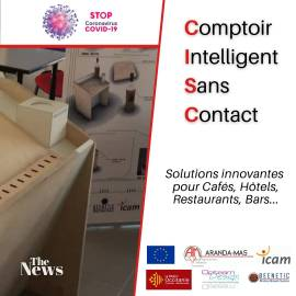 CISC comptoir interactif sans contact