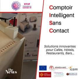 CISC comptoir interactif sans contact