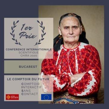 Le Comptoir du Futur primé à Bucarest