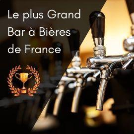 Le plus grand bar à bières de France