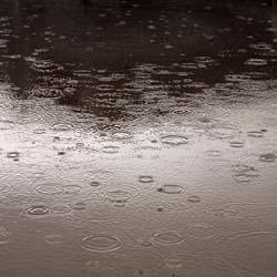 gotas de lluvia