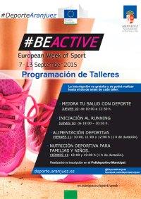 I Semana Europea del Deporte