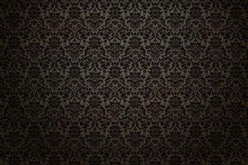 Black Victorian Wallpaper - Halloween en la epoca victoriana
